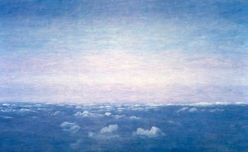 "<strong>Atmosphere II</strong> – 84"" x 136"" – Acrylic on canvas – $3,900"