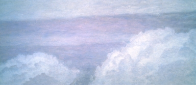 "<strong>Atmosphere III</strong> – 84"" x 204"" – Acrylic on canvas – $5,800"