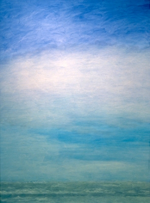 "<strong>Atmosphere I</strong> – 84"" x 98"" – Acrylic on canvas – $2,000"