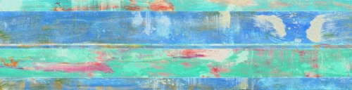 """<strong>Shoreham II</strong> – 26"""" x 102"""" – Acrylic with glass microspheres on canvas – SOLD"""