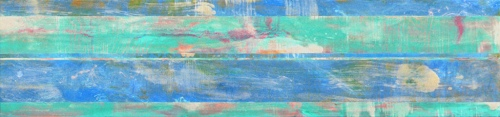 """<strong>Shoreham III</strong> – 26"""" x 112"""" – Acrylic with glass microspheres on canvas – SOLD"""