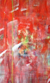 """<strong>Astonished</strong> – 58"""" x 36"""" – Acrylic with glass microspheres on canvas – $5,000"""