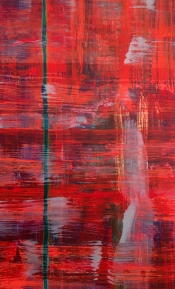 """<strong>Enticed</strong> – 58"""" x 36"""" – Acrylic with glass microspheres on canvas – $5,000"""