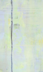 """<strong>Released</strong> – 58"""" x 36"""" – Acrylic with glass microspheres on canvas – $5,000"""